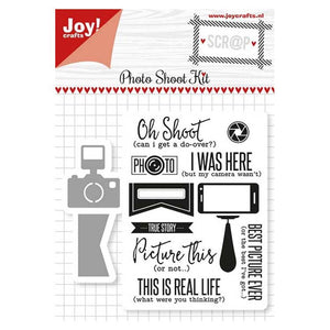 Joy! Crafts Die & Stamp - Photo Shoot Kit