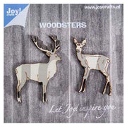 Joy! Crafts Wooden Figures - Deers