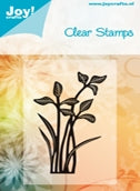 Joy! Crafts - Clear Stamps - Flower 1