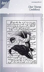 Joy! Crafts - Clear Stamps - Lily with Script
