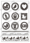 Joy! Crafts - Clear Stamps - Baby