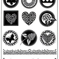 Joy! Crafts - Clear Stamps - Button Sayings