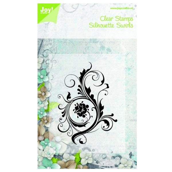 Joy! Crafts - Clear Stamp - Swirls ll