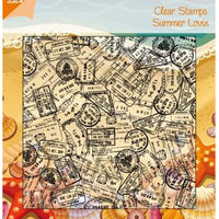 Joy! Crafts - Clear Stamp - Background Stamp Bon Voyage