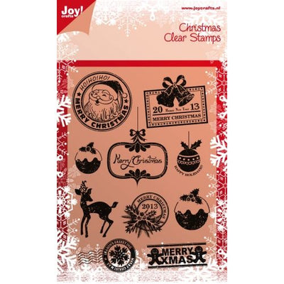Joy! Crafts - Clear Stamp - Christmas Icons