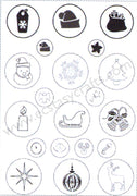 Joy! Crafts - Clear Stamp - Christmas
