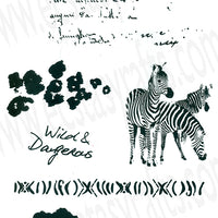Joy! Crafts - Clear Stamps - Wild Africa