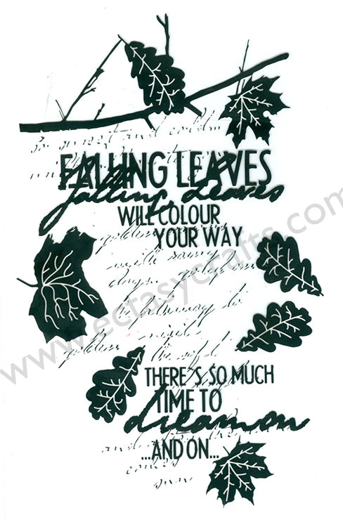 Joy! Crafts - Clear Stamp - Autumn Leaves