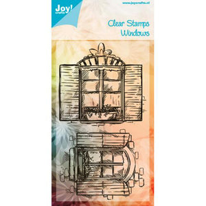 Joy! Crafts - Clear Stamp - Windows