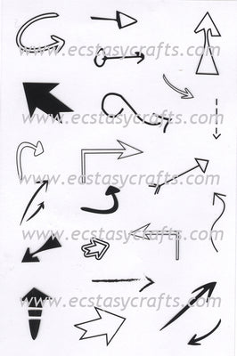 Joy! Crafts - Clear Stamp - Arrows