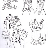 Joy! Crafts - Clear Stamp - Friendship