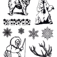 Joy! Crafts - Clear Stamp - North Pole