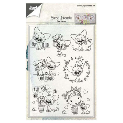 Joy! Crafts Clear Stamp - Animal Friends