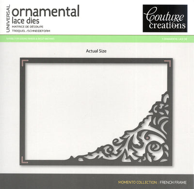 Couture Creations Die - French Frame - Memento
