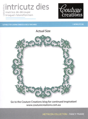 Couture Creations Dies - Fancy Frame