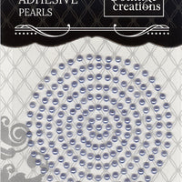 Couture Creations 3mm Pearls - Cornflower Blue