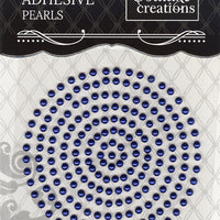 Couture Creations 3mm Pearls - Midnight Blue