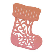 Couture Creations Mini Die - Patterned Stocking