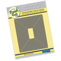Nested Rectangles Picot Cut Die Set