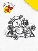 Clear Stamp - Animals Series - Sheep Girl