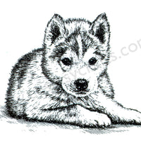"Clear stamps Animals series ""puppy"""