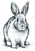 "Clear stamps Animals-serie ""rabbit"""