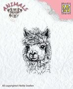 Nellie's Choice Clear Stamp Animals - Lama