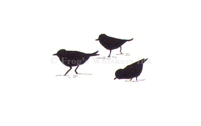 Frog's Whiskers Stamps - Sandpipers