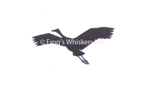 Frog's Whiskers Stamps - Flying Crane