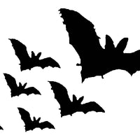 Frog's Whiskers Stamps - Bats