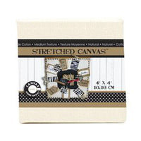 Canvas Corp 4 x 4 Stretched Natural Canvas