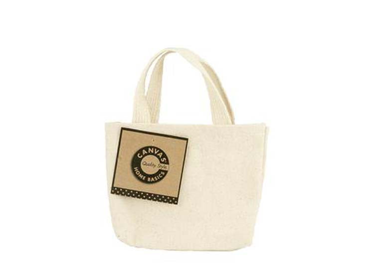 "Canvas Corp Canvas Bag - Canvas Mini Tote 5"" x 4"""