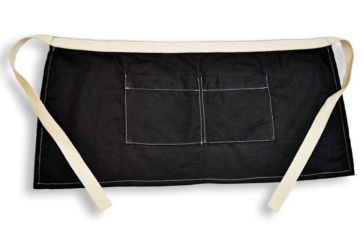 Canvas Corp Black Canvas Server Apron