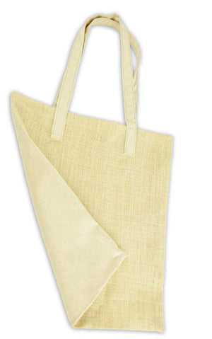 Canvas Corp Canvas & Ivory Burlap French Market Bag
