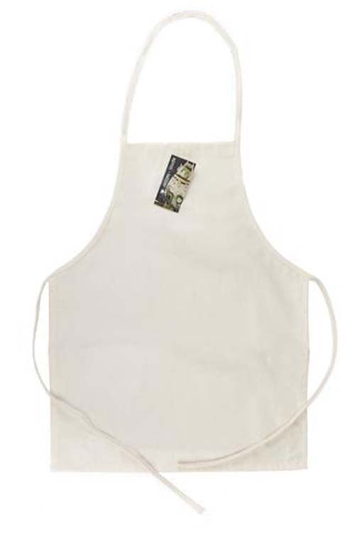 Canvas Corp Canvas Apron Adult Square Bottom without Pockets