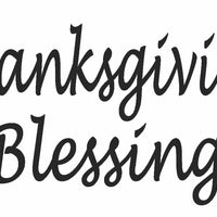 Frog's Whiskers Stamps - Thanksgiving Blessings