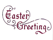 Frog's Whiskers Stamps - Easter Greeting