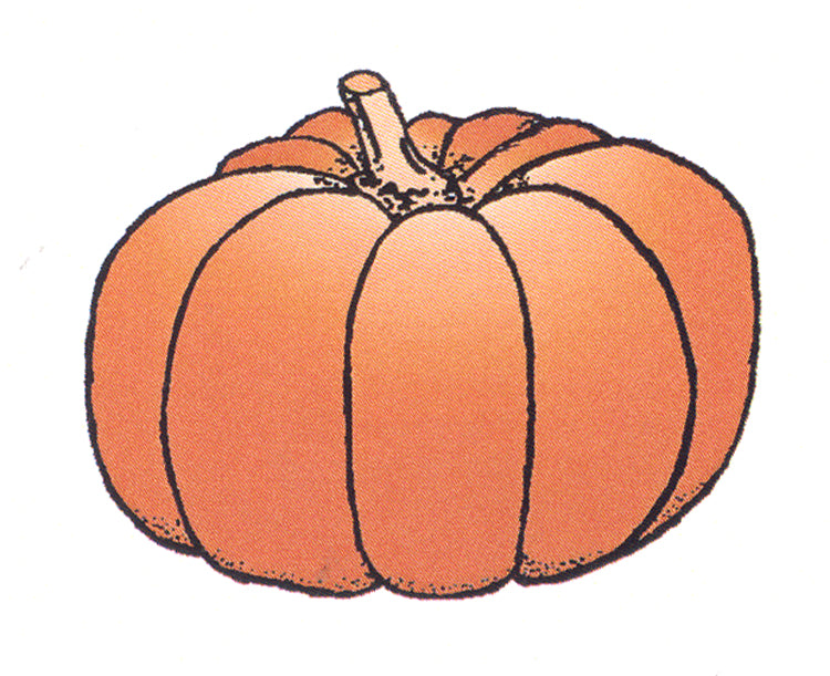 Frog's Whiskers Stamps - Single Pumpkin