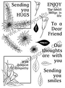 Creative Expressions - Clear Stamps - Flower Frames Elements Set