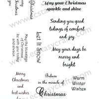 Creative Expressions - Clear Stamps - Peace on Earth