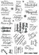 Creative Expressions - Clear Stamps - Christmas Sayings