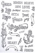 Creative Expressions - Clear Stamps - Inspiring Words Journaling