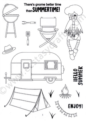 Creative Expressions - Clear Stamps - Summertime Gnome