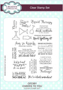 Creative Expressions - Clear Stamps - Cheers To You