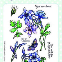 Creative Expressions - Clear Stamps - Columbine