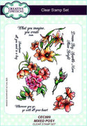 Creative Expressions - Clear Stamps - Mixed Posy