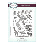 Creative Expressions - Clear Stamps - African Animals