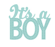 Sue WIlson - New Arrival Collection - It's A Boy Die