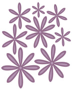 Sue WIlson - Finishing Touches Collection - Delicate Daisies - Complete Petals Die