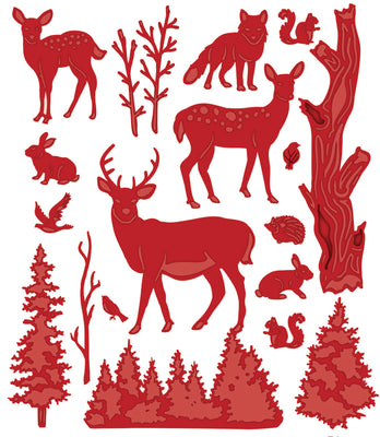 Sue Wilson Dies - Woodland Collection - Forest Animals Die